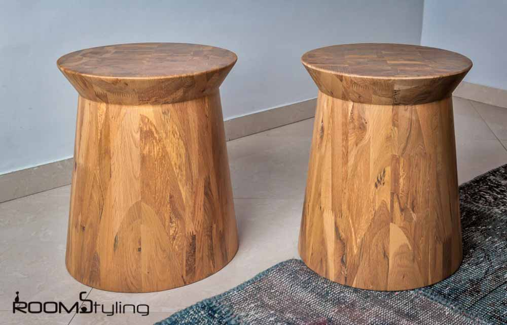 SIDE TABLE SOLID STOOL