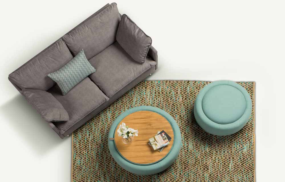 POUFFE TABLE ELIOTE